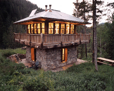 Aia Montana Design Awards Judith Mountain Cabin